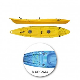 KAYAK SEA MONSTERS BARRACUDA BLUE CAMO